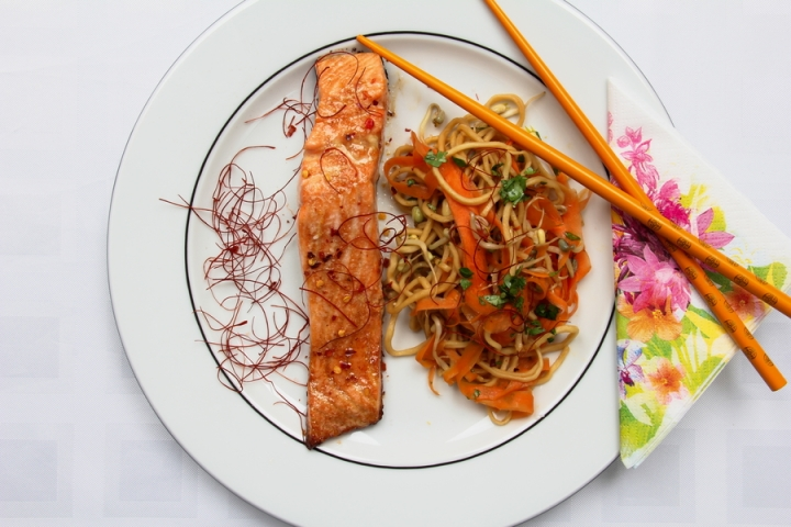 lachs-asia-style