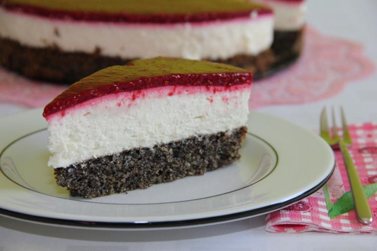 Mohn-Topfen-Torte