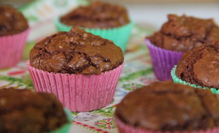 Brownie-Cupcakes