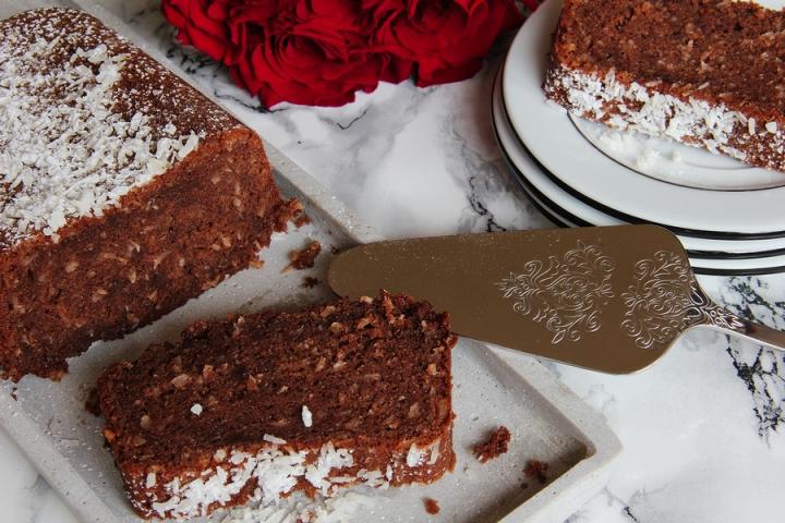 Schoko Kokos Kuchen Genussatelierlang